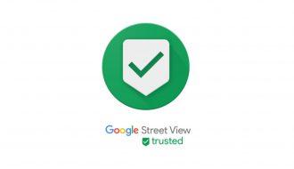 Googleストリートビュー認定フォトグラファーバッジ(例)